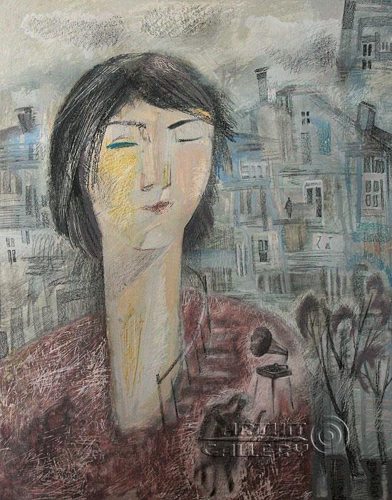 ''Внутри меня''.  Токарева Анна. Продажа картин, предметов декоративно-прикладного искусства