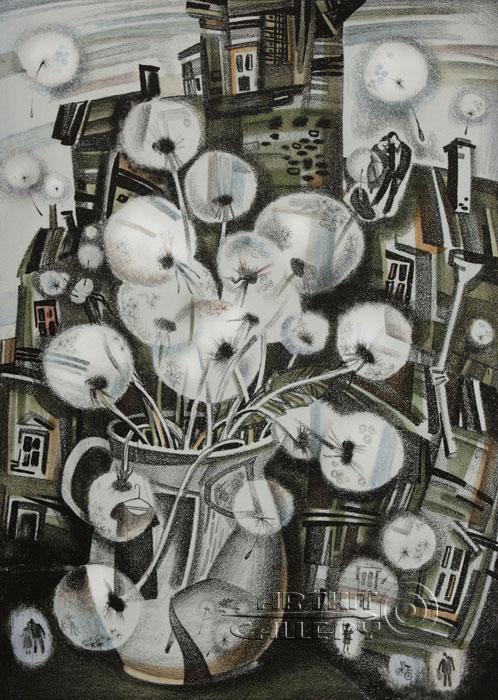 ''Одуванчики''.  Токарева Анна. Продажа картин, предметов декоративно-прикладного искусства