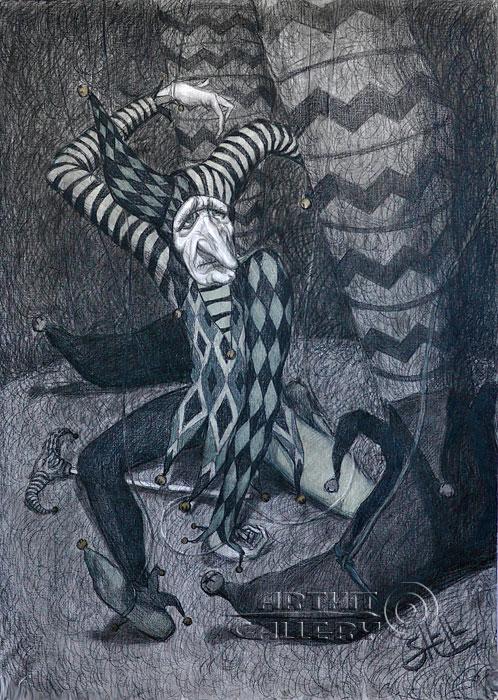 ''Марионетка''.  Шелбаев Зураб `Шел`. Продажа картин, предметов декоративно-прикладного искусства