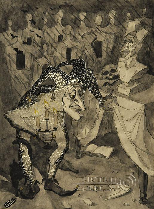 ''Искать себя''.  Шелбаев Зураб `Шел`. Продажа картин, предметов декоративно-прикладного искусства