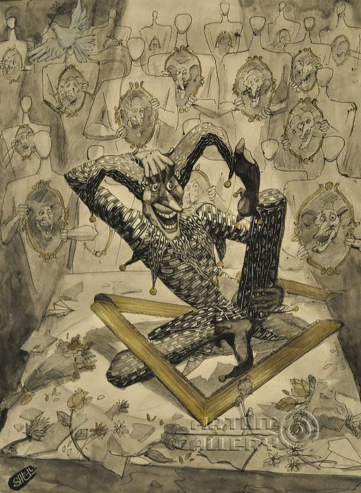 ''Найти себя''.  Шелбаев Зураб `Шел`. Продажа картин, предметов декоративно-прикладного искусства