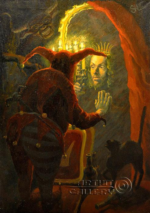''Его Величество''.  Шелбаев Зураб `Шел`. Продажа картин, предметов декоративно-прикладного искусства