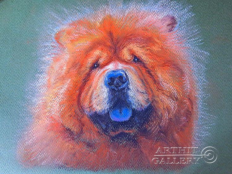 ''Банди''.  Газарова Лариса. Продажа картин, предметов декоративно-прикладного искусства
