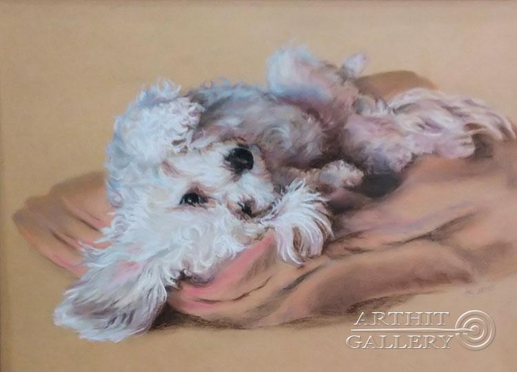 ''Мечтатель''.  Газарова Лариса. Продажа картин, предметов декоративно-прикладного искусства
