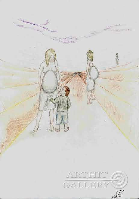 ''Ферма''.  Чикалова Елена. Продажа картин, предметов декоративно-прикладного искусства