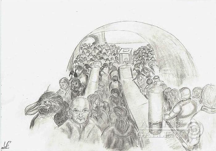 ''Час пинг''.  Чикалова Елена. Продажа картин, предметов декоративно-прикладного искусства