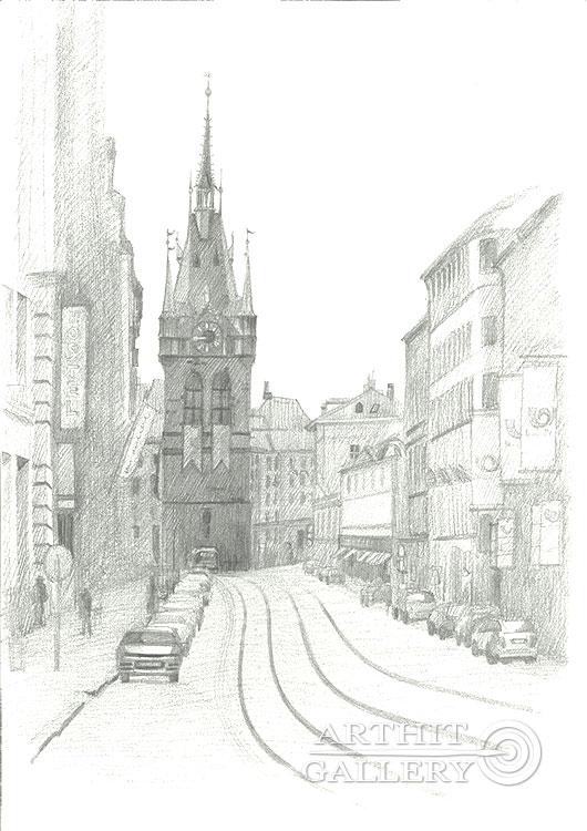 'Indrizhskaya tower'. Klymenko Ivan