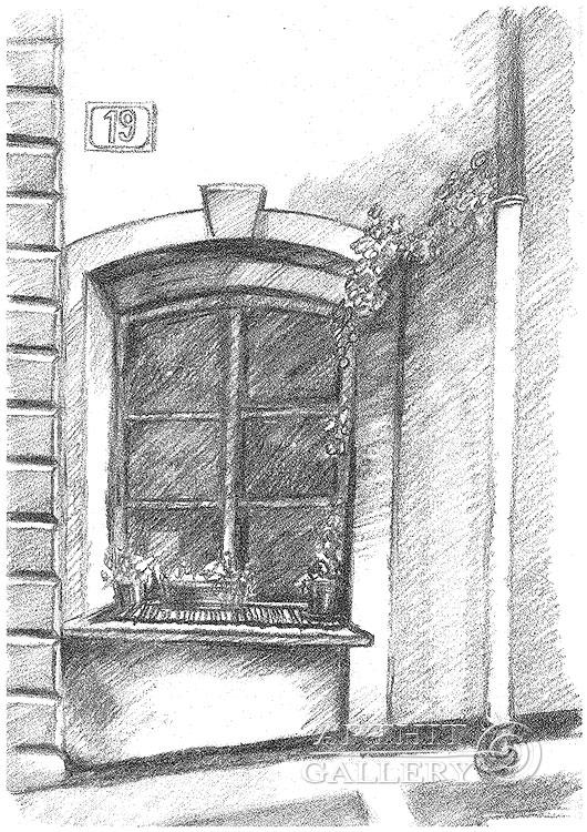 'Window, Prague'. Klymenko Ivan