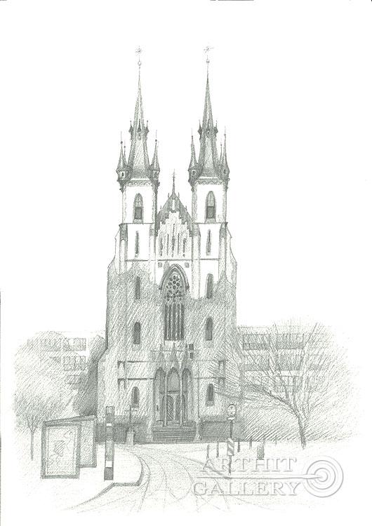 'St. Anthony of Padua Church, Prague'. Klymenko Ivan