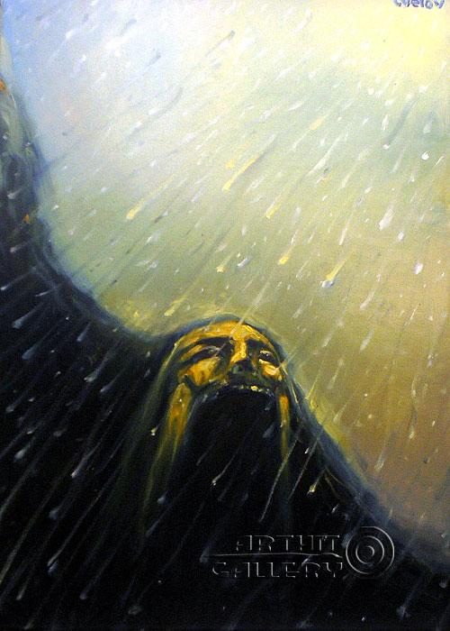 ''Снег''.  Цвелов Алексей. Продажа картин, предметов декоративно-прикладного искусства