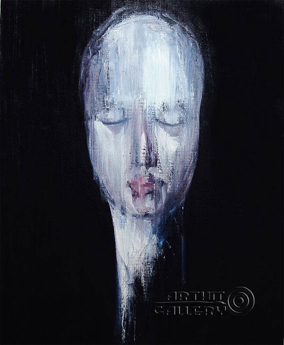 ''Автопортрет''.  Юдзюань Дайцуке. Продажа картин, предметов декоративно-прикладного искусства