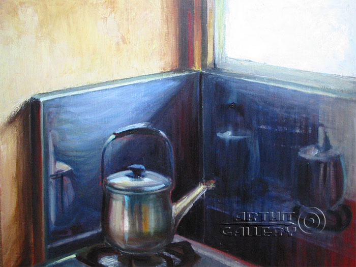 ''Кухня''.  Юдзюань Дайцуке. Продажа картин, предметов декоративно-прикладного искусства
