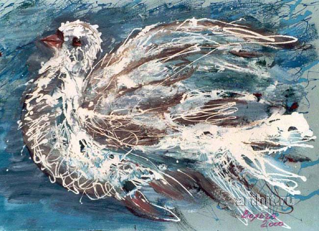 'White bird'  by Yaguzhinskaya Wolga