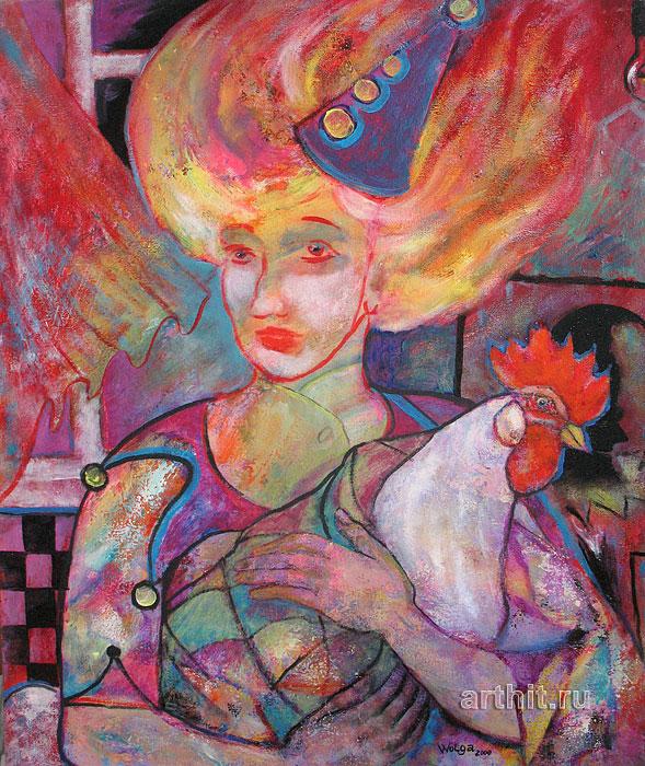 'Towards the wind'  by Yaguzhinskaya Wolga