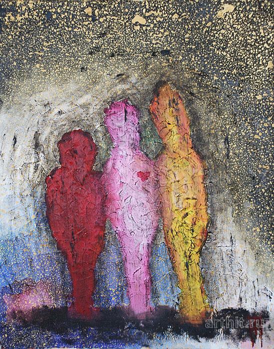 'Mother and daughters'  by Popova Kseniya