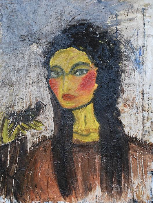 'Uzbek woman'  by Popova Kseniya