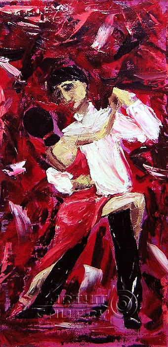 ''В танце''.  Соболь Галина. Продажа картин, предметов декоративно-прикладного искусства