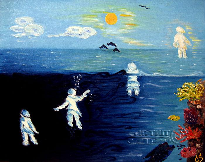 ''Жизнь – это рождение (Путь к победе)''.  Соболь Галина. Продажа картин, предметов декоративно-прикладного искусства
