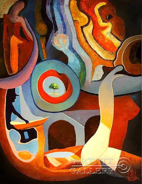 ''Забывание сна''.  Aln Владимир. Продажа картин, предметов декоративно-прикладного искусства