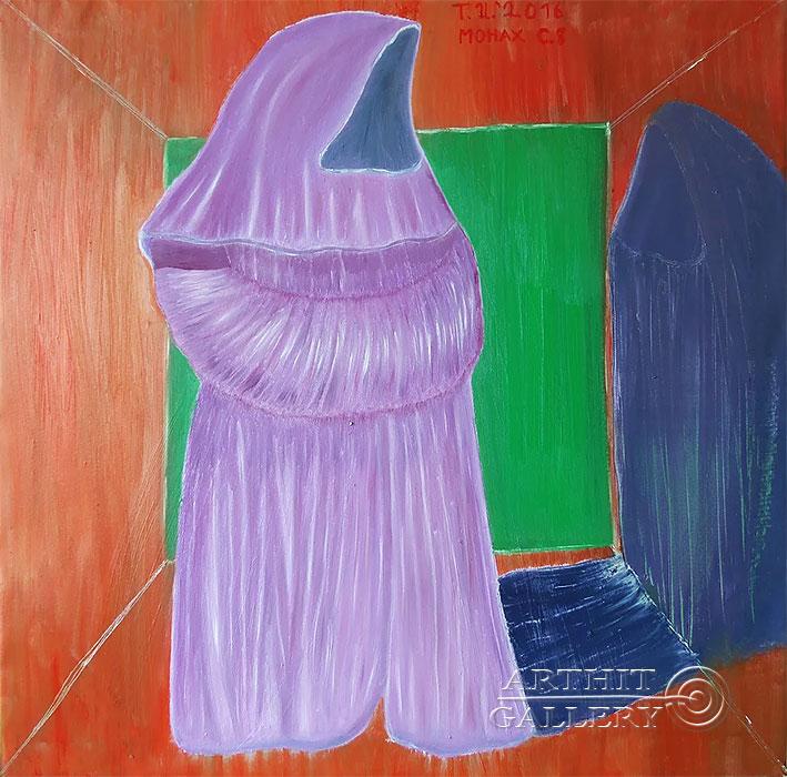 ''Монах, серия 8''.  Торбин Илья. Продажа картин, предметов декоративно-прикладного искусства