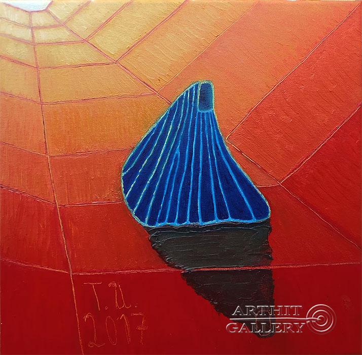 ''Монах, серия 10''.  Торбин Илья. Продажа картин, предметов декоративно-прикладного искусства