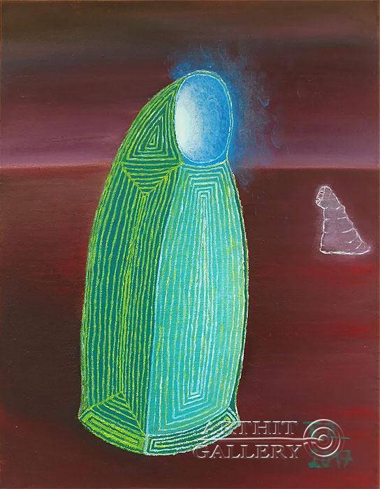 ''Монах, серия 11''.  Торбин Илья. Продажа картин, предметов декоративно-прикладного искусства