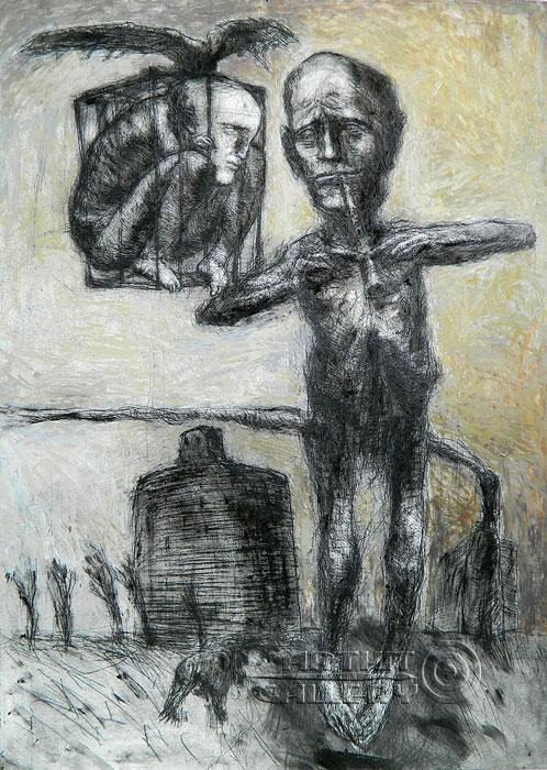 ''Сотворение мира''.  Логинов Сергей. Продажа картин, предметов декоративно-прикладного искусства