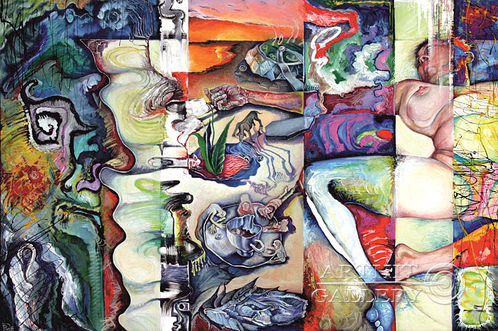 'The awakening time'. Zhamalov Rinat
