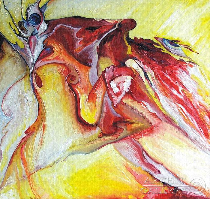 'The peak of pleasure'. Zhamalov Rinat