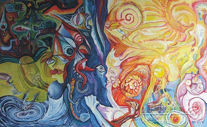 ''Молитва''.  Жамалов Ринат. Продажа картин, предметов декоративно-прикладного искусства
