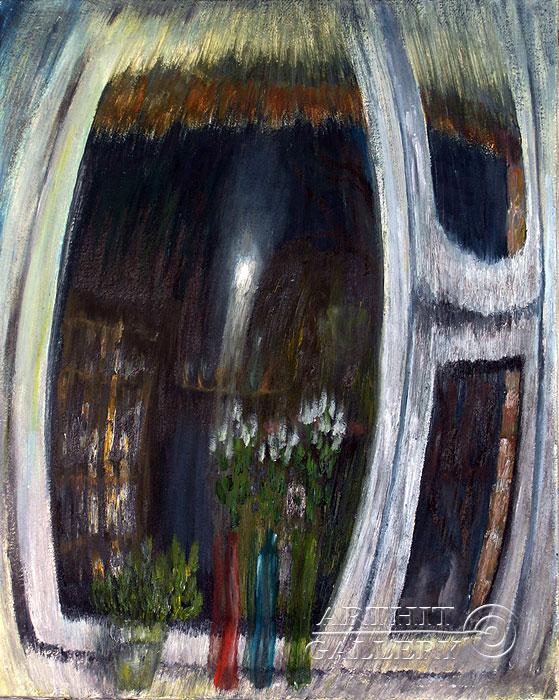''Минуя Окно''.  Левашенко Давид. Продажа картин, предметов декоративно-прикладного искусства