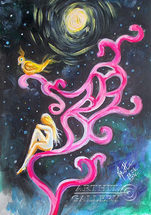 ''Сновидение...''.  Сыроватская Наталья. Продажа картин, предметов декоративно-прикладного искусства