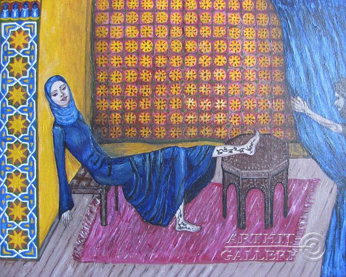 ''Марокко''.  Петрова Ирина. Продажа картин, предметов декоративно-прикладного искусства