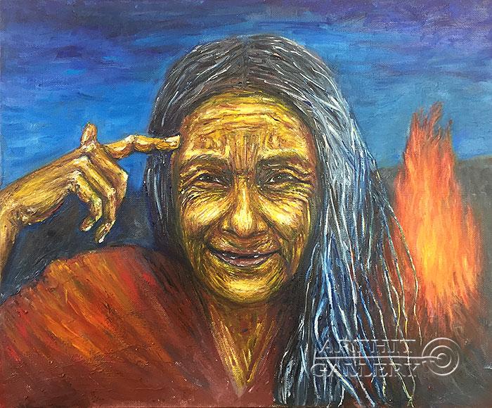 ''Мудрость''.  Петрова Ирина. Продажа картин, предметов декоративно-прикладного искусства