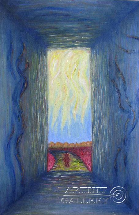 ''Выход''.  Петрова Ирина. Продажа картин, предметов декоративно-прикладного искусства
