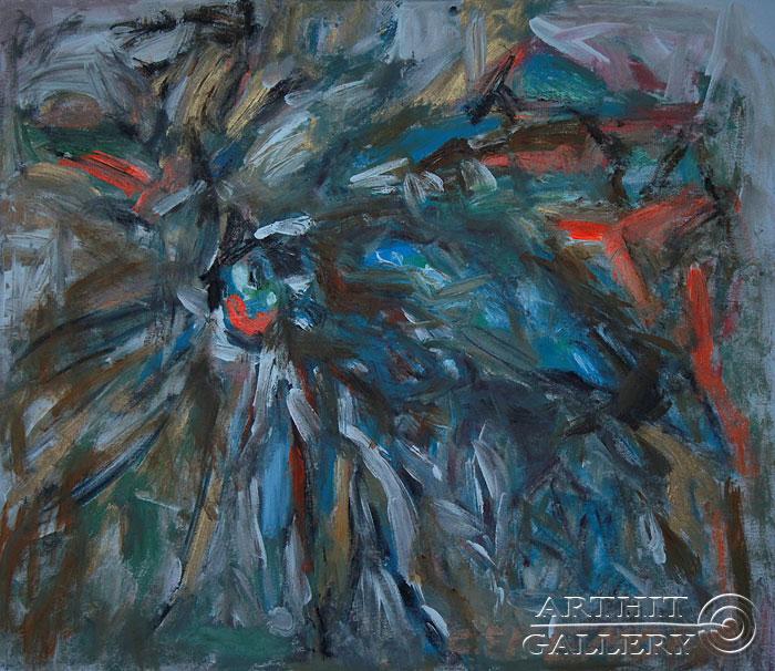 ''Пилильщик''.  Еремова Светлана. Продажа картин, предметов декоративно-прикладного искусства