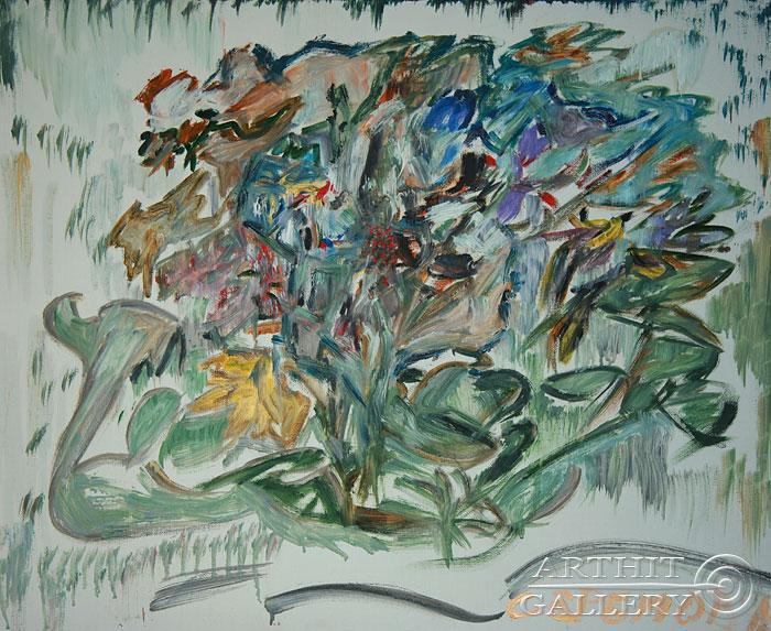 ''Смоковница''.  Еремова Светлана. Продажа картин, предметов декоративно-прикладного искусства