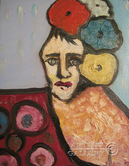''В мечтах''.  Туманян Эмма. Продажа картин, предметов декоративно-прикладного искусства