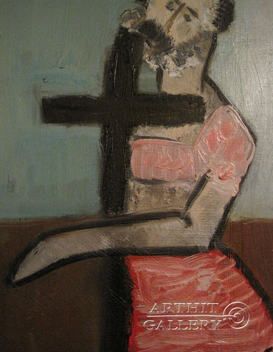 ''Богохульник''.  Туманян Эмма. Продажа картин, предметов декоративно-прикладного искусства