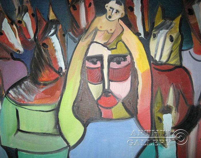 ''Аномалия''.  Туманян Эмма. Продажа картин, предметов декоративно-прикладного искусства