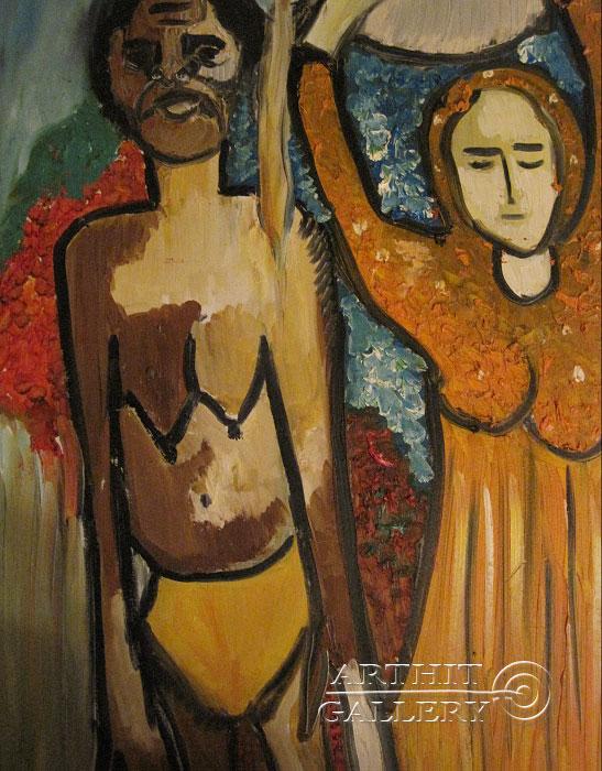 ''Традиции''.  Туманян Эмма. Продажа картин, предметов декоративно-прикладного искусства