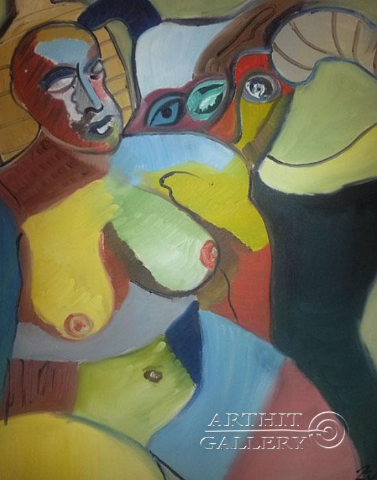 ''Деградация''.  Туманян Эмма. Продажа картин, предметов декоративно-прикладного искусства