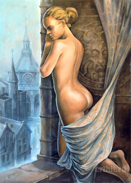 Fantasy Art Priestess Nick Marci Fantasy Art Original