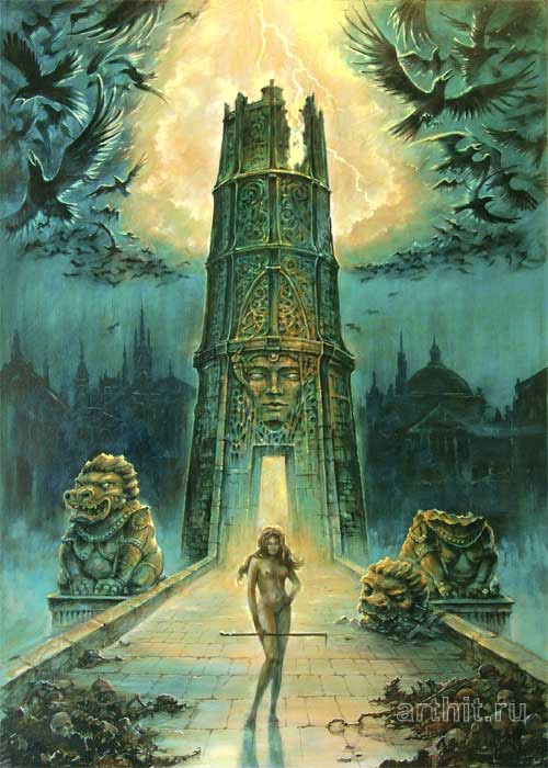 fantasy art tower nick marci fantasy art original fantasy paintings