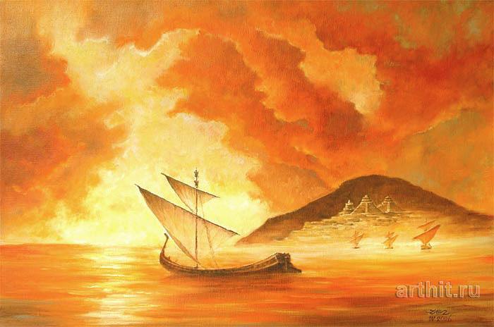 'Atlantis harbors'  by Marci Nick