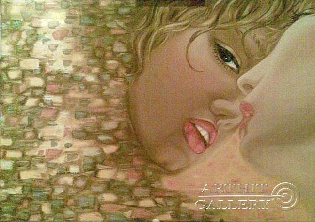 ''Зеркало''.  Neft Neftyannaya. Продажа картин, предметов декоративно-прикладного искусства