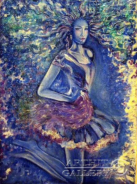 ''Зима''.  Neft Neftyannaya. Продажа картин, предметов декоративно-прикладного искусства