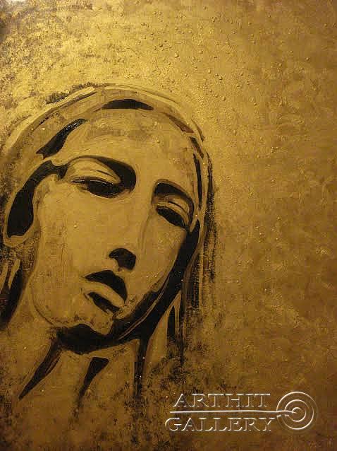 ''Мадонна''.  Neft Neftyannaya. Продажа картин, предметов декоративно-прикладного искусства