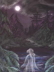 Озеро привидений
