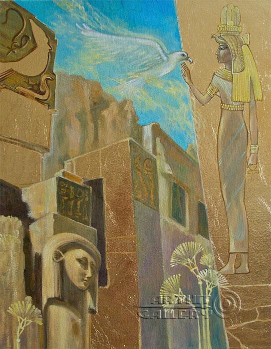 ''Вечно живые''.  Маркова Даша. Продажа картин, предметов декоративно-прикладного искусства